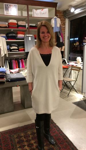 Marseille- Oversized cashmere klänning/ tunika