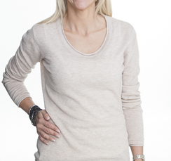 LISSABON- Tröja tunn i t-shirtmodell