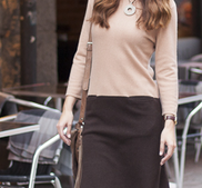 STOCKHOLM- cashmere klänning